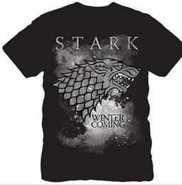 $enCountryForm.capitalKeyWord Australia - NEW Men T-shirt DireWolf House STARK Casual Style Cotton Game of Thrones Top Tee