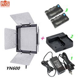 Charger np online shopping - YN600 Yongnuo YN k LED Video Light AC Adapter NP F550 Charger