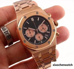 $enCountryForm.capitalKeyWord NZ - 2018 New Top Luxury Men's Watch Stainless Steel 42mm High Quality Chronograph Quartz Movement Sports Men Business Sapphire Wristwatc
