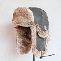 Mens   homme pu piel sintética de piel gruesa y caliente chapka russe  hombre invierno a 3adb5d65c66