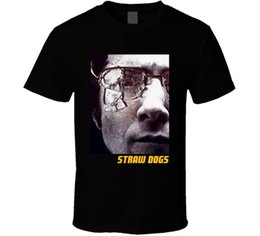 667ac0d31 Straw S Canada - Straw Dogs Dustin Hoffman 70s Movie Classic Fan T Shirt  suit hat