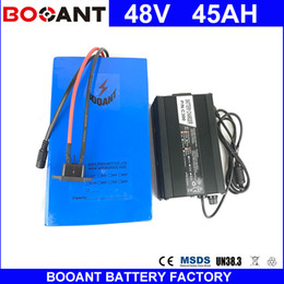 Motor Bicycles Australia - BOOANT 1800W 45AH 48V E-Bike Li-ion Battery pack For Bafang 1800W Motor 45AH Electric Bicycle Battery 18650 cell With 50A BMS