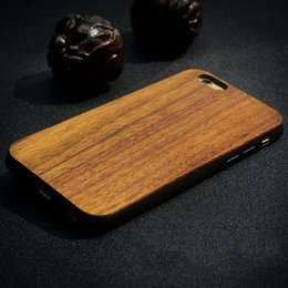 Wood Iphone Case Dhl Australia - For Phone Wood TPU Case Wooden Cover For phone x 6 Samsung S8 S9 Plus S7 Edge Case DHL Free SCA439