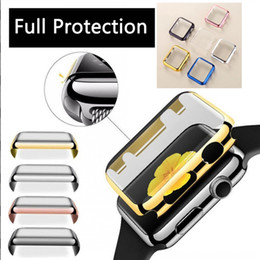 Gold case for apple watch online shopping - Aluminum Metal Alloy PC Protector Cover Case Perfect Fit for Apple Watch Series mm for iWatch Frame