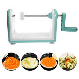 Spiral Slicer Cutter Australia - Vegetable Potato Slicer Mandoline Peeler Grater Vegetable Spiral Cutter Tools For Carrot Onlion With Blade Vegetable Slicer Tool