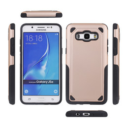 Black Rubberized Case Australia - For SGP Samsung J5 J7 2016 Dual Layer Protection Shockproof Rugged Hybrid Rubberized Coating Case Cover for iPhoneX 7 7plus