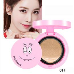 Cream Block NZ - Facial Makeup Enhancer Complexion Air Cushion CC Cream Lasting Makeup Air Cushion CC Cream Cosmetics