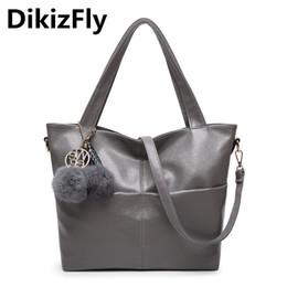 Name Brands Ladies Handbags Australia - DikizFly Women Bag Pu Leather Tote Brand Name Bag Ladies Handbag Lady Bags Solid Female Messenger Bags Travel Fashion Sac a Main