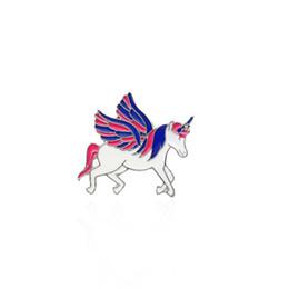 discount horse christmas ornaments xy fancy 3 style cartoon flying horse unicorn brooch cute animal - Horse Christmas Ornaments