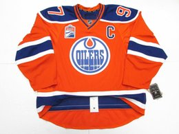 3f76e2117 Cheap custom Connor McDavid EDMONTON OILERS THIRD INAUGURAL SEASON EDGE 2.0 JERSEY  stitch add any number any name Mens Hockey Jersey XS-5XL