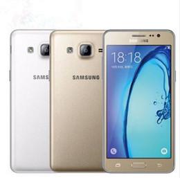 Quad sim card mobile online shopping - Original Unlocked Samsung Galaxy On5 G5500 Quad Core MP G LTE Android x720 Dual SIM cards refurbished Mobile phone