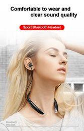 $enCountryForm.capitalKeyWord NZ - 1pcs V8 Sports Headphones Neckband Style Earphone Wireless Stereo Music Headset Loud Speaker for iPhone Samsung LG HTC free shipping