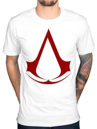 pirates logos 2018 - Official Mens Assassins Creed Logo T-Shirt Syndicate Rogue Identity Pirates Game discount pirates logos
