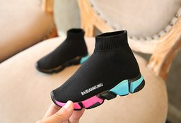 Spring p online shopping - kids shoes baby running sneakers boots toddler boy and girls Wool knitted Athletic socks shoes p l