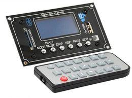 $enCountryForm.capitalKeyWord UK - Portable Audio Video 3 Players 12V Lyric Show Bluetooth MP3 Decoding Board USB SD AUX FM DIY MP3 Decoder board for car digital LED Record