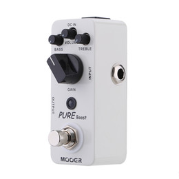 Pedal Boost Australia - Mooer Pure Boost Micro Mini Boost Effect Pedal for Electric Guitar True Bypass