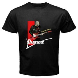 Black s guitar online shopping - JOE SATRIANI Rock Blues Music Guitar Legend T Shirt