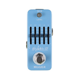 mooer pedals NZ - Mooer Graphic G 5-Band Guitar Equalizer Pedal Smallest guitar graphic equalizer pedal in the world Full metal shell True bypass MU0523