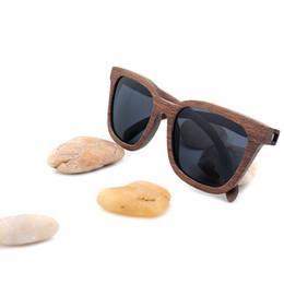 d89ad96368fd6 amboo polarized sunglasses BOBO BIRD Black Walnut Wood Bamboo Polarized Sunglasses  Mens Glasses UV 400 Protection Eyewear in Wooden Origi.