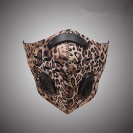 city anti pollution mask NZ - Wholesale- Anti-pollution Bike Bicycle City Cycling Face Mask Cover Outdoor Sports Mouth-Muffle Carbon Dustproof Outdoor Accessories M100