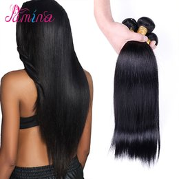 filipino virgin human hair NZ - Spring Queen Hair Products 10A Virgin Filipino Straight 4PC Unprocessed Human Hair Weave Unice Filipino Virgin Hair Bundles