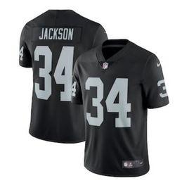 8a45f1987 Marshawn Lynch Jersey 2019 Derek Carr Bo Jackson Jordy Nelson vapor  untouchable color rush america football jerseys women men youth kids