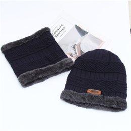 c327e07d0e1af 2018 Winter Hats For Men Knit Cap Scarf Cap Knitted Hat Men Beanie Knit Hat  Skullies Beanies Hats For Women Caps
