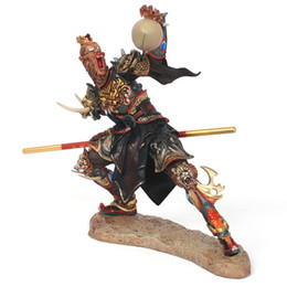 dota figures NZ - Free shippingfuryMonkey King figure Model China Journey to the West dota sun wu kong