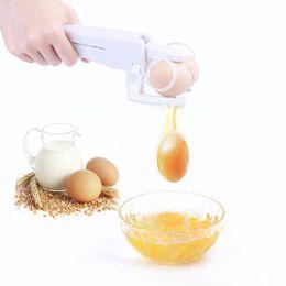 Egg crackEr online shopping - Egg cracker Egg Separator Dividers Popular Manual Eggs Cutter Holder The Cheapest Kitchen Tools Hot Sale