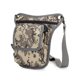 DIDA BEAR Brand 2017 Men Canvas drop waist bags Leg pack bag for work Men  Messenger bags Multifunction Shoulder Bag Black Khaki cc51fcb75295d