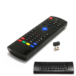 Mini tv android 4.4 online shopping - Air fly mouse MX3 with Backlit G Wireless Remote Controls TV box remote contro FOR Android TV BoxS905X X96 T95X MXQ PRO