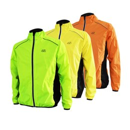 $enCountryForm.capitalKeyWord UK - Wholesale-Anytoudoor night Reflective Breathable Men Waterproof Running Jacket Wind Coat Bicycle cycling Jersey cortavientos ciclis