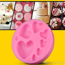$enCountryForm.capitalKeyWord NZ - Heart Silicone Fondant Cake Cupcake Jelly Tray Pan Mold Silicone DIY Tool Chocolate Mold Baking Decoration Tool