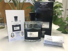 New Creed aventus perfume para homens 120 ml com longa duração de boa qualidade alta fragrância capactity Frete Grátis