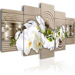 Ölgemälde Leinwand Orchideen Online Großhandel ...