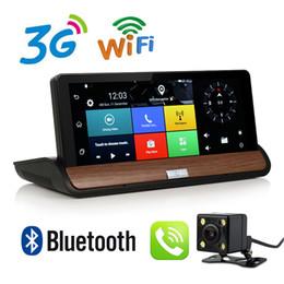 Gps Hd Australia - Otstrive 7 inch 3G GPS Navigation Dashboard Android 5.0 DVR Full HD 1080P Bluetooth WiFi Rear View Optional Camera 1G RAM DVR