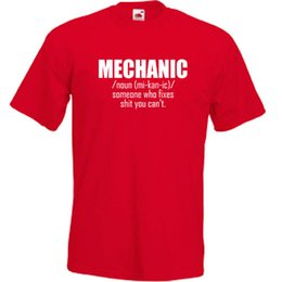 b732e967 Mechanic T Shirt Mens Funny - Christmas Gift for Dad Him Fathers Day S-5XLFunny  free shipping Unisex Casual gift