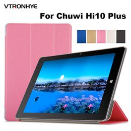 chuwi tablets UK - Case For Chuwi Hi10 Plus 10.8 inch Tablet PC cover, VTRONHYE Ultrathin PU Leather Protective Case Cover for Chuwi Hi10 Plus 10.8