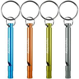 Wholesale Hiking Camping tools Outdoor Gadgets Naturehike Camping Emergency Whistle Outdoor Survival Aluminum Whistle Travel EDC Tool