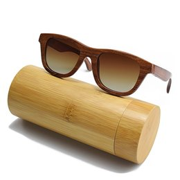 SunglaSSeS man polariSed online shopping - BEDATE G001A Polarised Wooden Sunglasses Wood Frame Sunglasses with UV Blocking Polarized Lens Multicolor