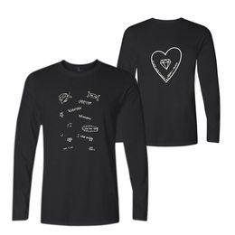 d7f20e1fef8 SEVENTEEN 17 Group Signature Men s O-Neck Long Sleeves T Shirts Couples Kpop  Hip Hop Harajuku Cotton T-Shirt Tops Oversized 4XL