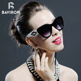 sunglasses designs NZ - BAVIRON Designer Cat Eye Women Sunglasses Retro Sunglasses Vintage Sun Glasses Women Brand Design Outfits Sun Glasses Ladies