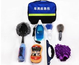 Wholesale Car wash tool long handle telescopic pure cotton soft hair cleaning mop special mop car wash suit combination