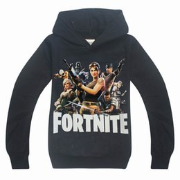 Girls hooded sweatshirts online shopping - Dgfstm Year Cartoon Fortnite Teenager Children Kids Hoodies Sweatshirts for Spring Autumn Big Boys Girls Hooded Clothing