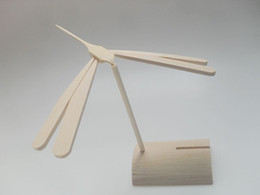 $enCountryForm.capitalKeyWord NZ - Bamboo dragonfly also bamboo-copter or Chinese top a toy helicopter rotor and balance bamboo dragonfly with business card holder arts crafts