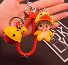 Wholesale baby gift Baby pacifier keychain bed pendant finger toy bell doll toys bag accessories
