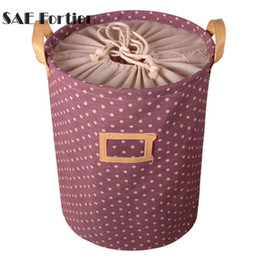 Chinese  Waterproof Storage Basket Bag Toy Dirty Laundry Basket Bag Clothes Toys Storage Box Sundries Fabric Folding ZH01264 manufacturers
