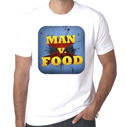 $enCountryForm.capitalKeyWord Australia - Man Vs Food Competitive Eating Enthusiasts mens 100% cotton Printed T shirt Cheap Crew Neck Men'S Top Tee Western Style