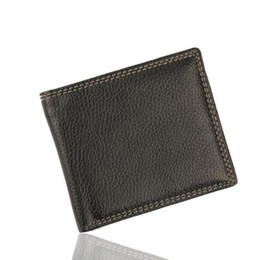 Wallet Business NZ - Men Leather Card Cash Receipt Holder Organizer Bifold Wallet Purse men's solid simple fashion business short wallet carteiras