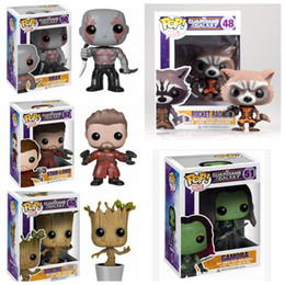 game thrones pop 2019 - 10CM Guardians of the Galaxy 2 Toddler Groot Toy Figure Action Models Funko Pop Game of Thrones Kids Toys Novelty Items